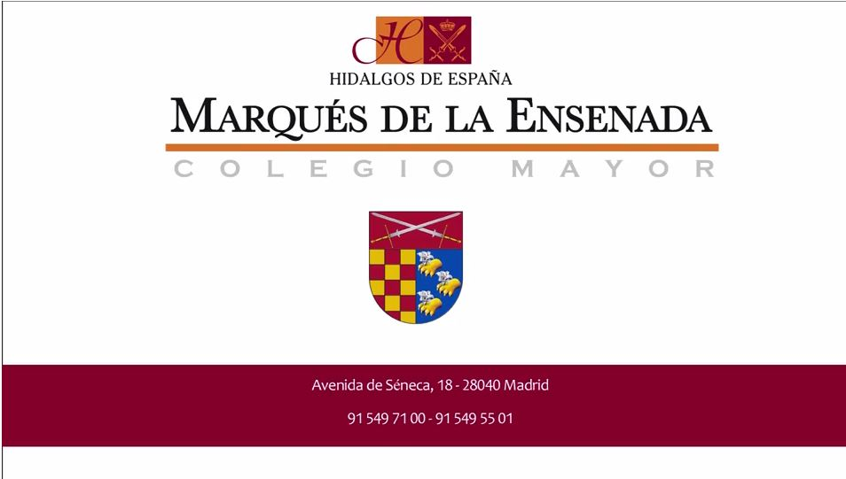 Video Colegio Mayor Universitario Marques de la Ensenada en Madrid